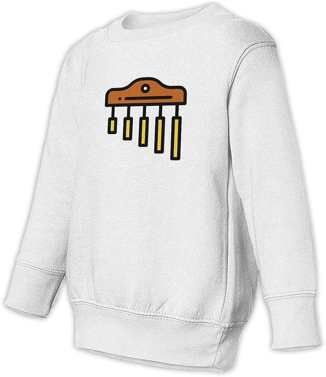 Chimes Unisex Toddler Hoodies Fleece Pull Over Sweatshirt for Boys Girls Kids Youth
