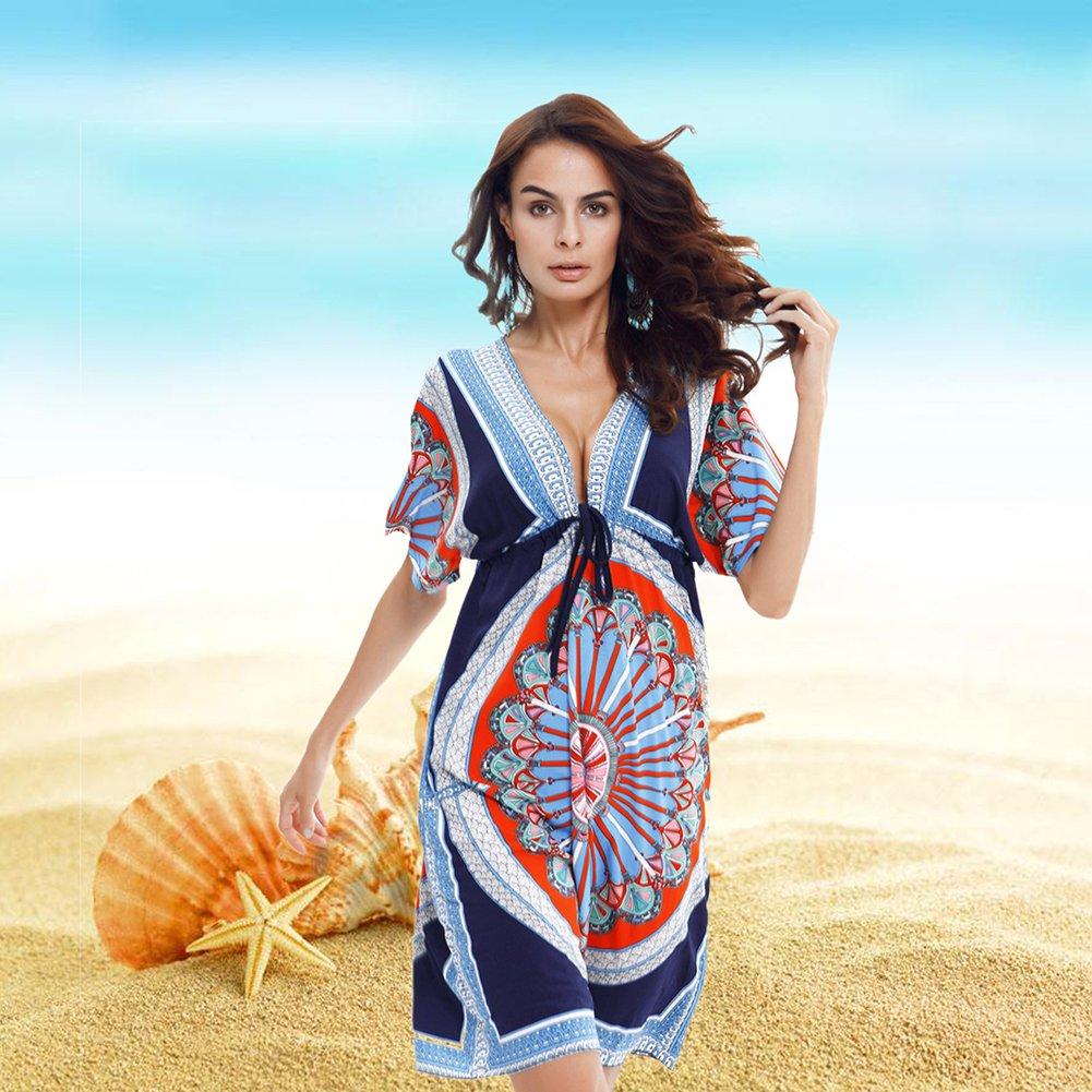 6d71d9d2a6ce Ropa deportiva VBIGER Trajes de Baño Vestido de Playa Camisolas y ...