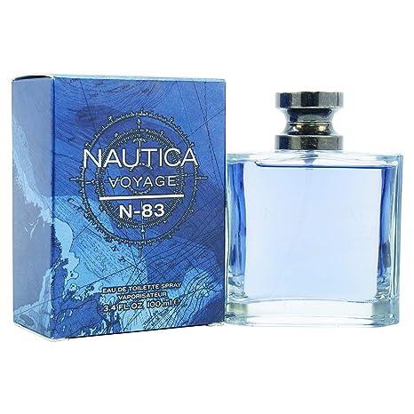 9f615096f Nautica Voyage N-83 Spray, 3.4 Ounce: Amazon.com.mx: Salud, Belleza y  Cuidado Personal