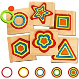 Toddler Puzzles Games Wooden Toys Montessori Shape Sorting Puzzle Toddlers Activities Preschool Learning Early…