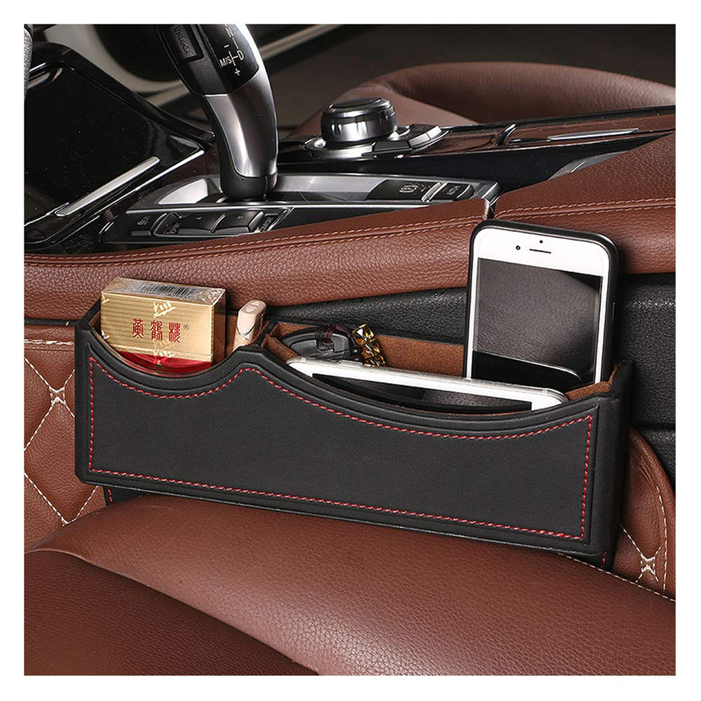 Car Pocket Organizer Seat Console Gap Filler Side Placed Wallet 1 Pcs//Set Drink Cup Coins Holder Box Glasses Candy Key Card Mobile Phone
