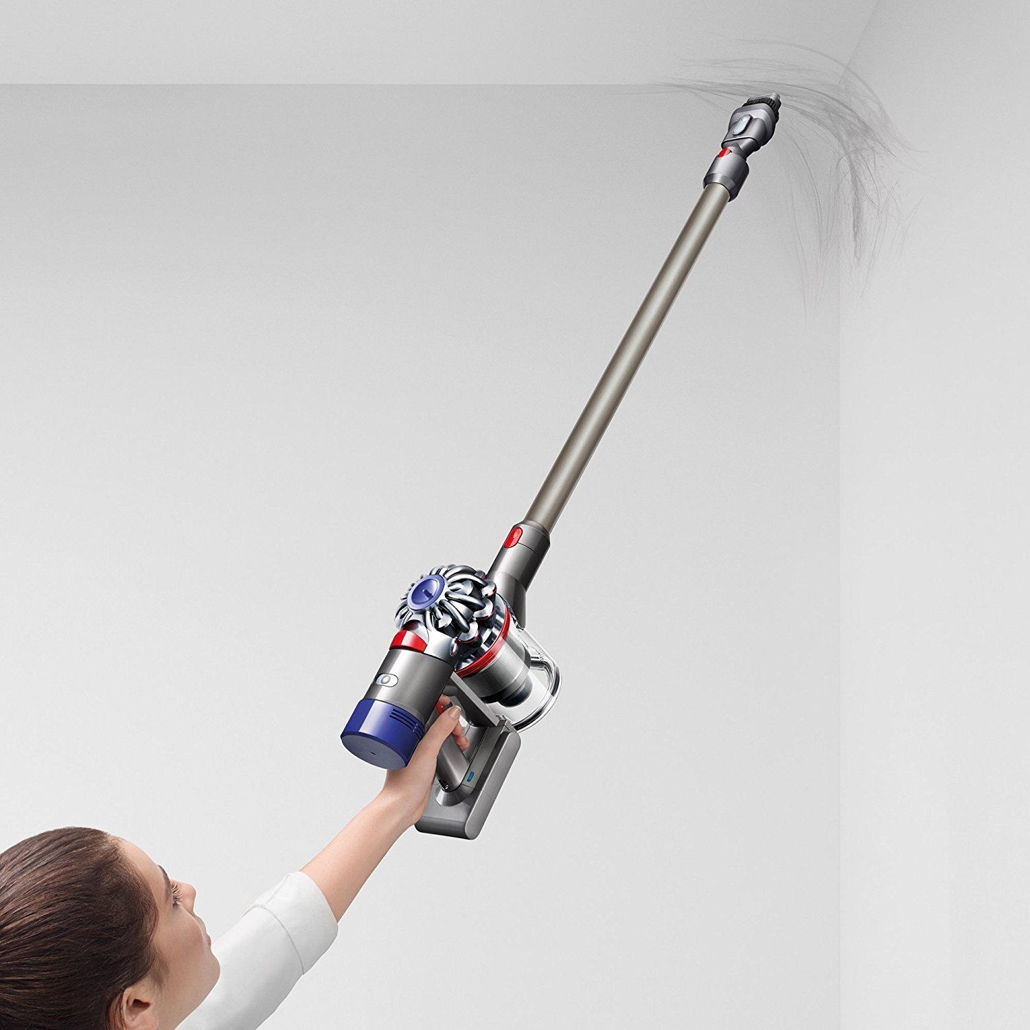 Dyson V8 Animal Cordless HEPA Vacuum Cleaner + Direct Drive Cleaner Head + Wand Set + Mini Motorized Tool + Dusting Brush + Docking Station + Combination Tool + Crevice Tool by Dyson