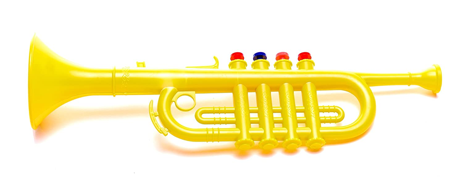 Antonelli Yellow Trumpet Horn for Kids Bontempi