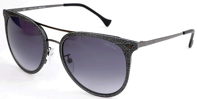 Police Sonnenbrille SPL153 Gafas de sol, Gris (Gr), 54.0 ...