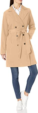 Amazon Essentials Women's Water-Resistant Trench Coat