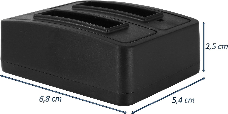 para Canon NB-12L NB12LH // PowerShot N100 // G1 X Mark II//Legria Cargador Doble USB Vixia Mini X