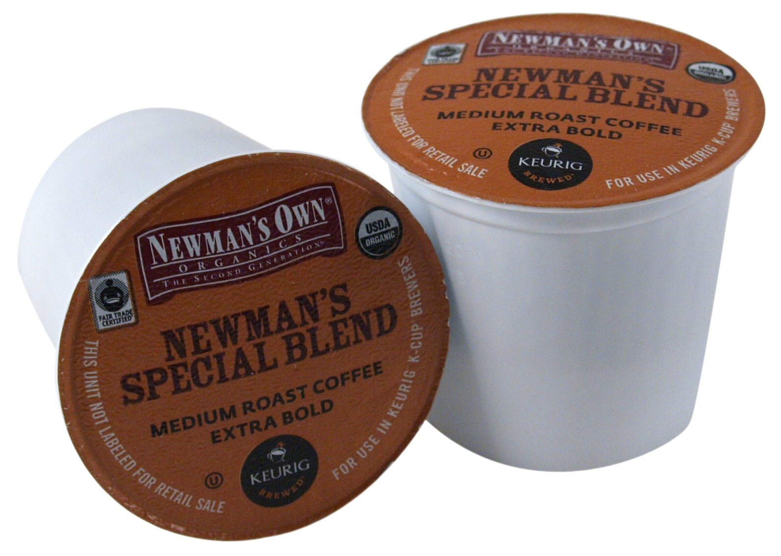Newman's Own Organics Special Blend Extra Bold Coffee Keurig K-Cups, 180 Count