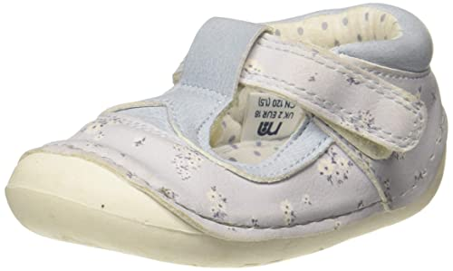 Mothercare Baby Girl's Blue Booties-6-9