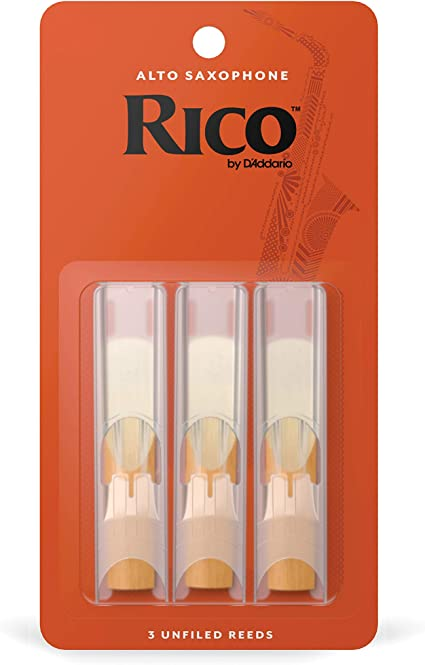 Rico Royal Alto Saxophone Reeds 3-pack Strength 3.0