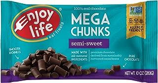 product image for Enjoy Life Foods, Mega Chunks, Semi-Sweet Chocolate, 10 oz (283 g)(PACK 1)