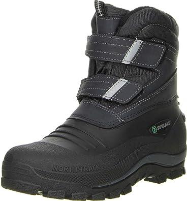 0e84bf86af7f Spirale Damen Herren Winterstiefel Snowboots schwarz, Größe 36 Farbe Schwarz