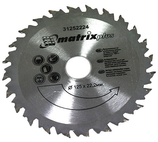 2 opinioni per Aerzetix- Disco lama per sega circolare con pannello di particelle per legno 125