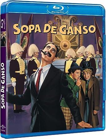 Sopa De Ganso [Blu-ray]: Amazon.es: Groucho Marx, Harpo Marx ...