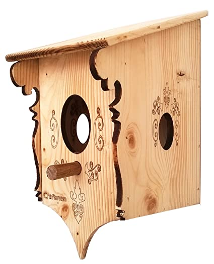 Craftman Bird House Vintage Wooden