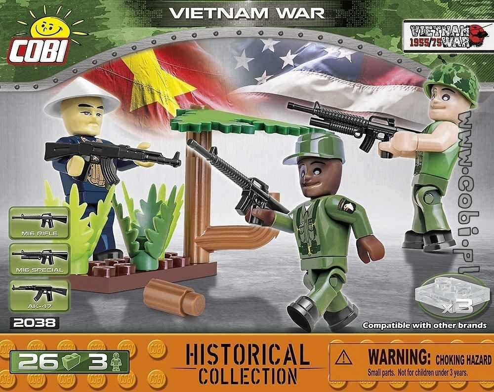 COBI Historical Collection The Vietnam War Set of Figures, Multi