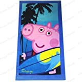 Toalla George Pig palmeras