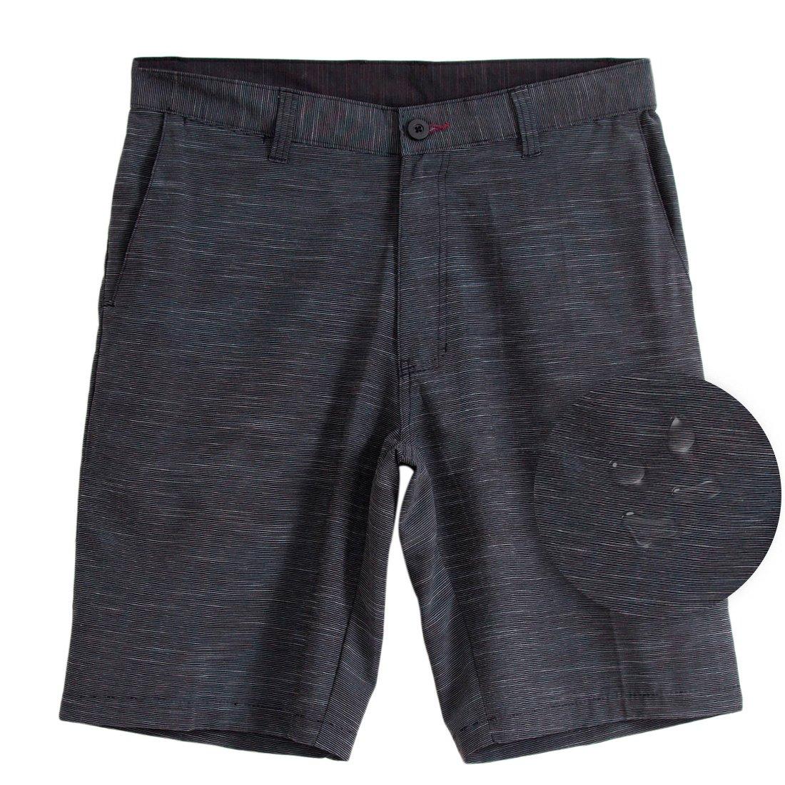 5e647b5c27 Top1: Burnside Mens Quick Dry Stretch Hybrid Dual Function Lightweight  Shorts