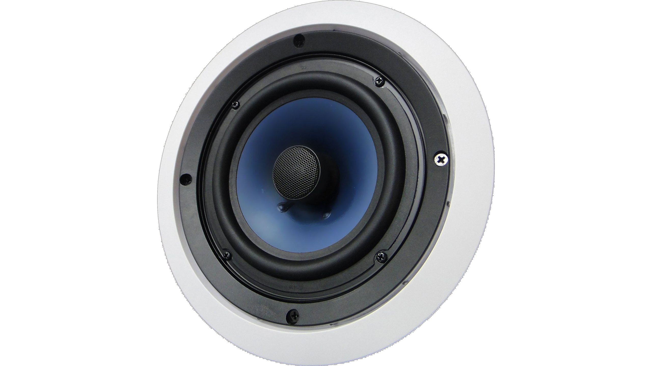 652C Silver Ticket In-Ceiling Speaker with Pivoting Tweeter (6.5 Inch in-ceiling) by Silver Ticket Products