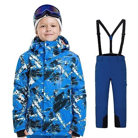 Traje de nieve de esquí cálido para niños Traje de nieve ...