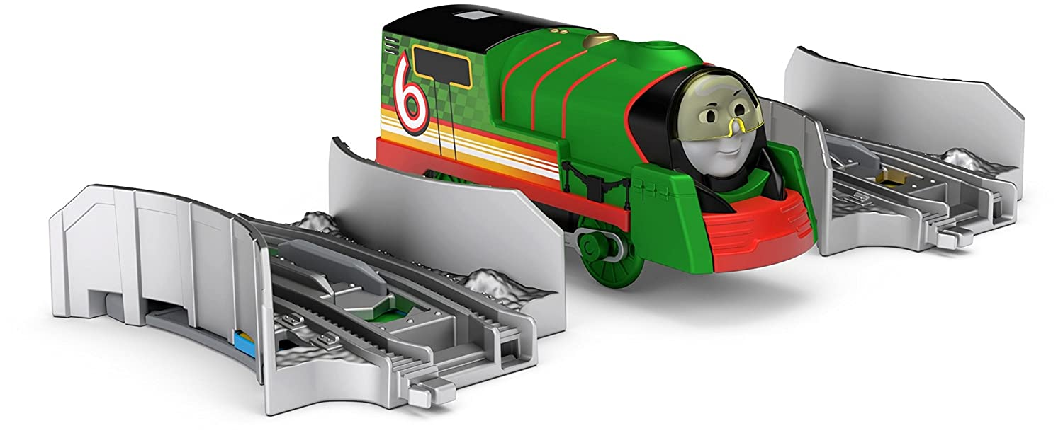 Amazon.com: Fisher-Price Thomas & Friends TrackMaster, Turbo Percy Pack: Toys & Games