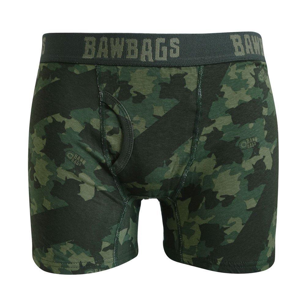 Bawbags Camo Mens Boxer Shorts Boxer Briefs Pants
