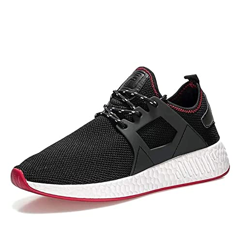 Zapatillas Running Hombre Zapatos Deporte para Correr Trail Fitness Sneakers Ligero Transpirable (42 EU)
