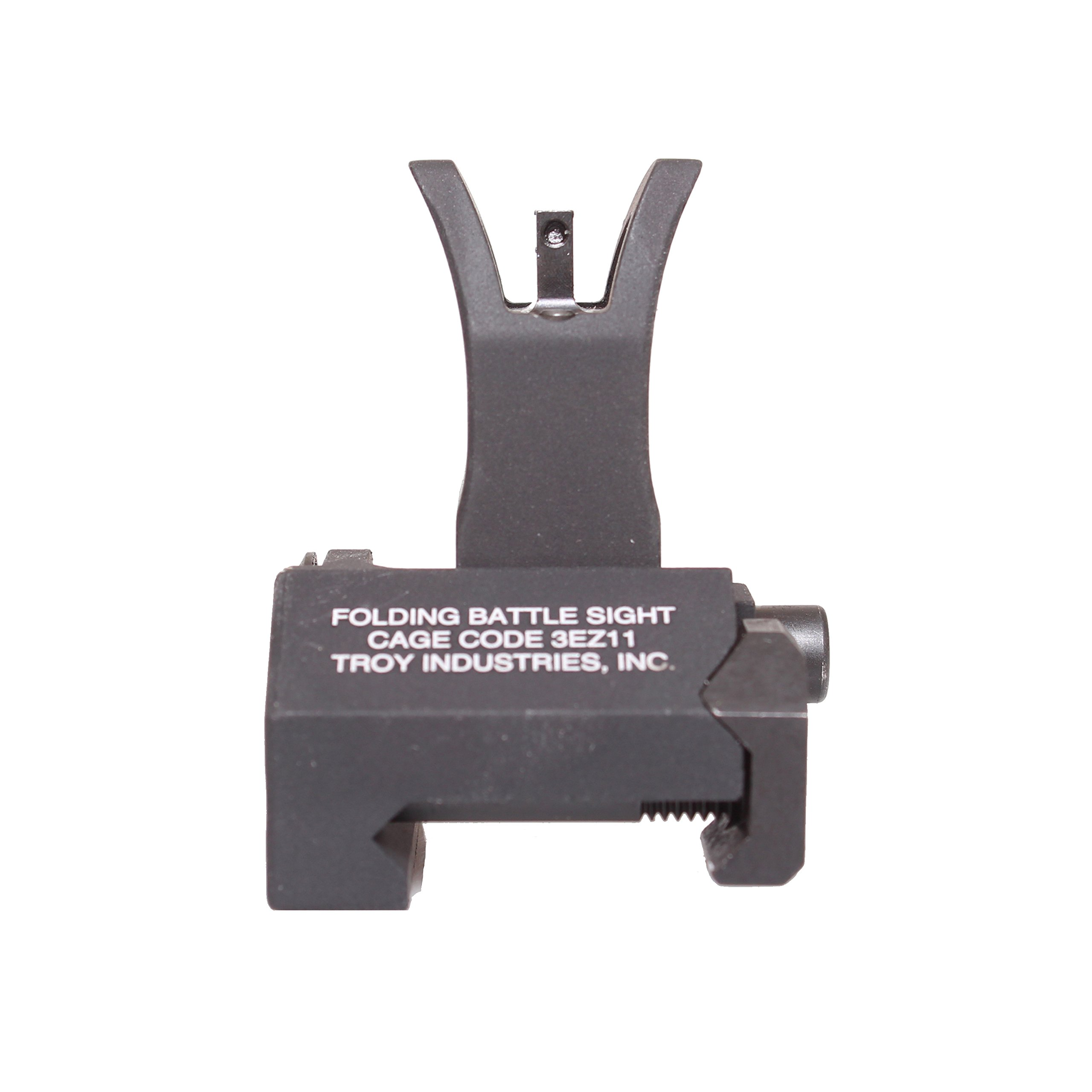 Troy Industries Front Folding Tritium M4 Style Battle Sight (Black ) by Troy Industries