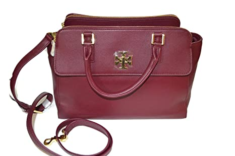 47bd5ce16aed Image Unavailable. Image not available for. Colour  Tory Burch Shiraz  Leather Mercer Dome