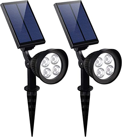 Magictec Super Bright Solar Motion Sensor Light Weatherproof Solar Lights Outdoor Wireless Solar Motion Security Light Solar Light Solar Sensor Light Metal Detector 45 LED Solar Light 5 Pack