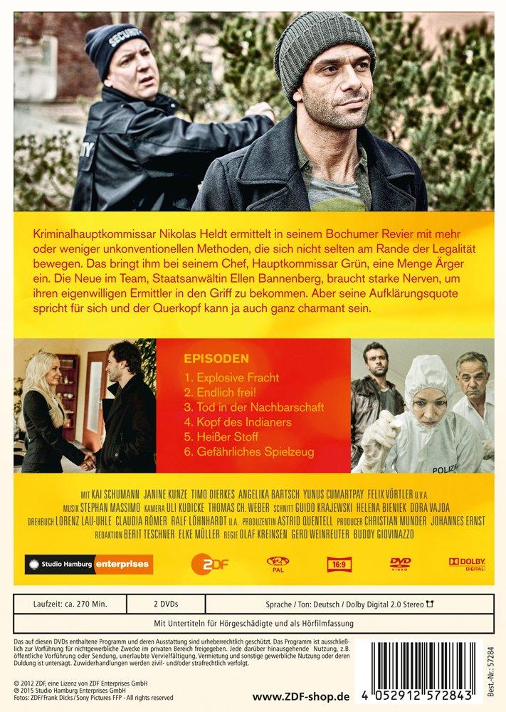 Heldt Hamburg heldt 1 staffel 2 dvds amazon de schumann kunze