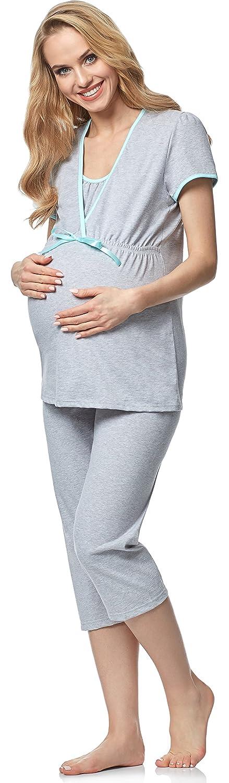 Italian Fashion IF Women's Nursing Pyjamas Ursula 0225 S)