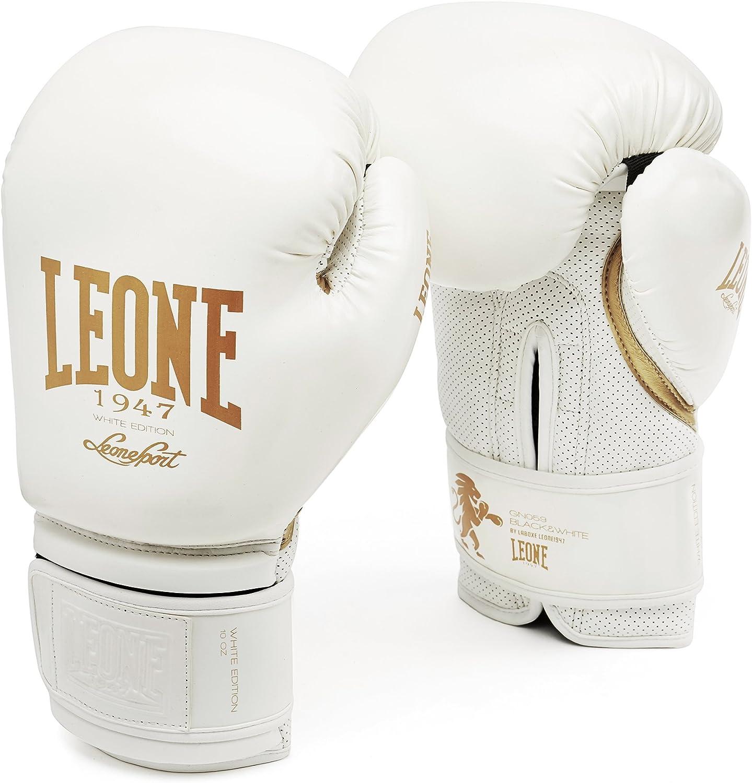 Leone 1947 GN059 Guantes de Boxeo, Mujer, Blanco, 10M: Amazon.es: Deportes y aire libre