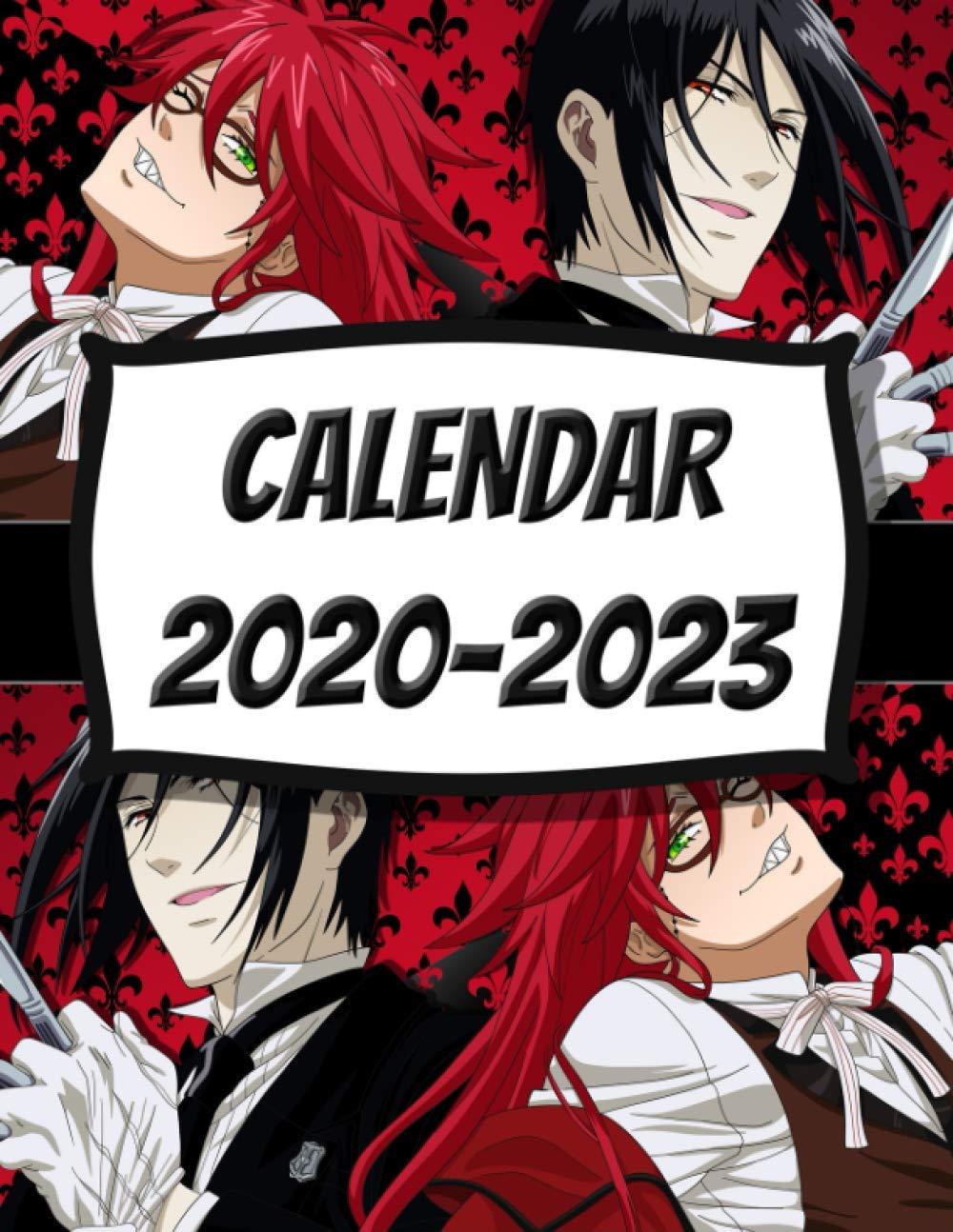Limited Edition Sebastian Michaelis Grell Sutcliff Black Butler Anime Manga Series Fan S Calendar 2020 2023 Ayano Yoshimoto 9798686181540 Amazon Com Books