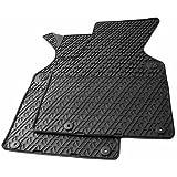 Nouveau! tapis de sol en caoutchouc pour vW t4 7D tapis de sol pour voiture en caoutchouc 2 pièces noir chaud et multivan avant break transporter
