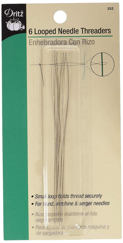 B0001DS1RA Dritz 252 Looped Needle Threaders (6-Count) 71kWfefuE4L