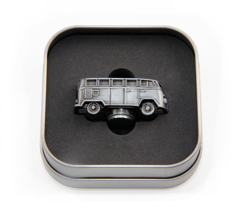 VW Collection by BRISA VW T1 Combi 3D Aimant de Mod/èle Mini dans Bo/îte Cadeau Rouge