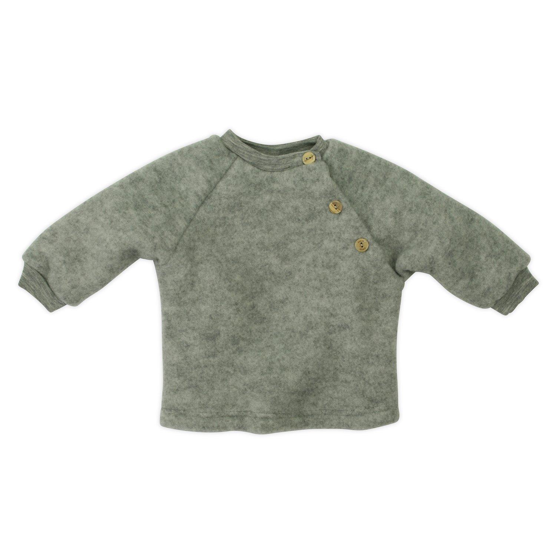 Baby Jumper in 100% Organic Merino Wool Fleece