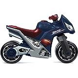 Molto - Motocicletta di Superman per bambini, 73 cm, Blu/Rosso