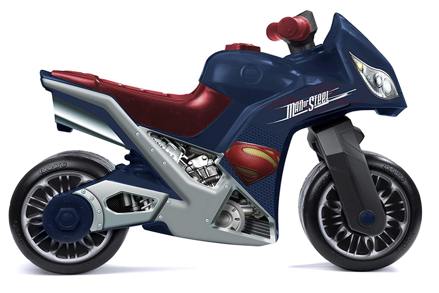 "Molto 73 cm ""Cross Superman"" Motorcycle for Children (Blue/Red) 2077506"