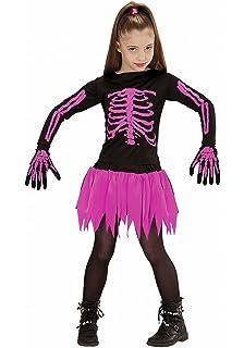 disfraz esqueleto rosa nia halloween aos