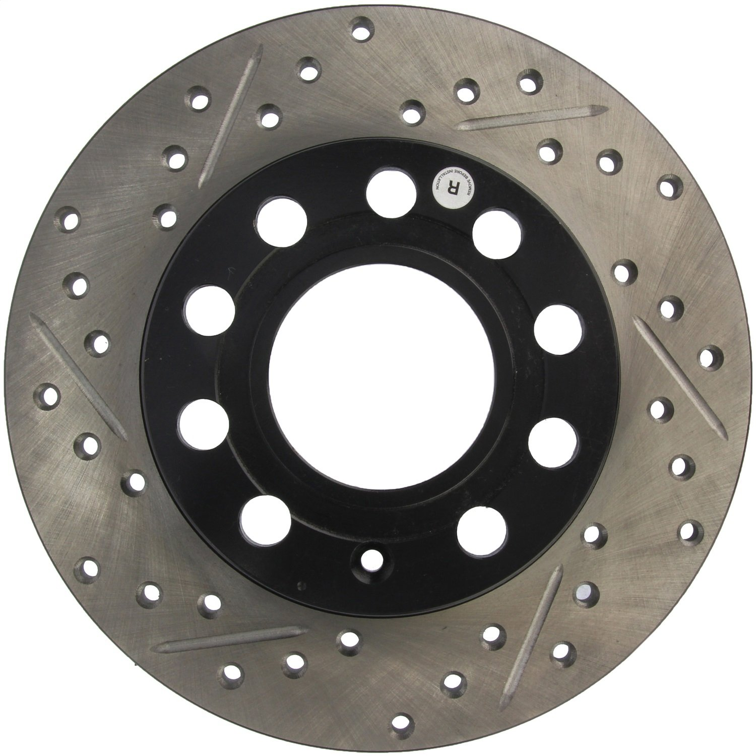 StopTech 127.33106R Sport Drilled//Slotted Brake Rotor 1 Pack Rear Right