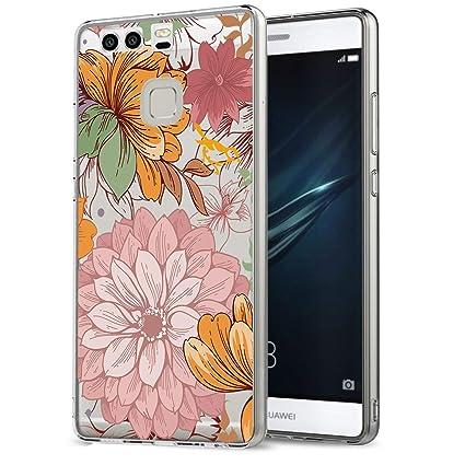 Amazon.com: Funda para Huawei P9/Huawei P9 Plus/Huawei P9 ...