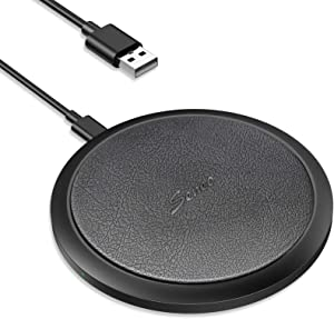 Wireless Charger, Seneo 7.5W Qi Fast Wireless Charger for iPhone 12 Pro/12/SE/11/11 Pro Max/XR/XS/X/8/8P/Airpods Pro, 10W Wireless Charging Pad for Galaxy Note 10/9/8, S20/S10/S9,15W for LG V30/V40