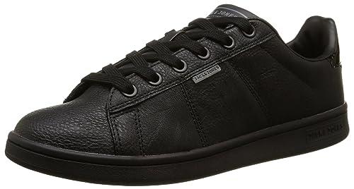 ca9a99ee325b09 Jack and Jones Men's Bane Low-Top Sneakers, Black (Anthracite), 6 UK ...