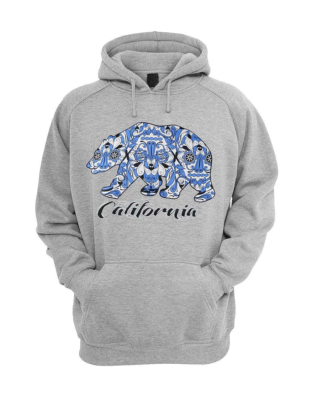 California Republic Design Unisex Hoodie Hooded Sweatshirt