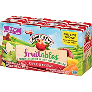 Apple & Eve Fruitables, Apple Harvest Juice, 8 Count, Pack of 1