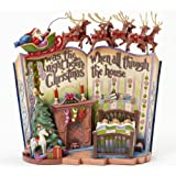 Amazon Com Jim Shore Heartwood Creek Angel With Nativity