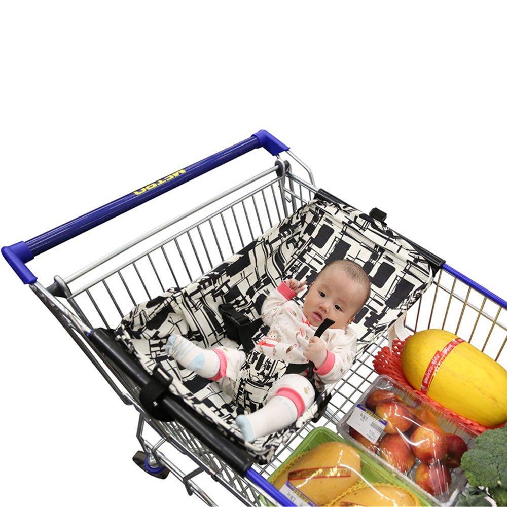 Baby Shopping Cart Hammock, Cart Cover for Newborn allvinda