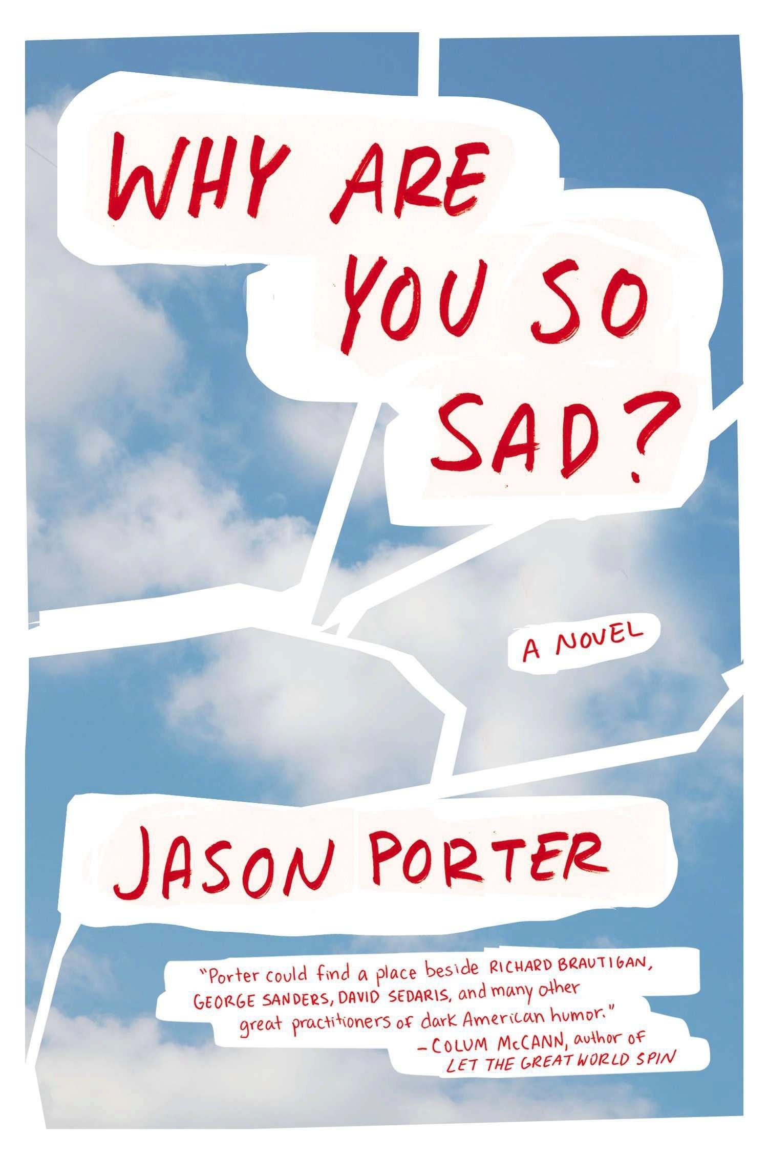 Why Are You So Sad?: A Novel: Jason Porter: 9780142180587: Amazon ...