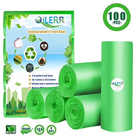 Amazon.com: QILERR Bolsas de basura biodegradables para ...